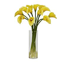 "august & leo 20"" Calla Lilies in Vase"