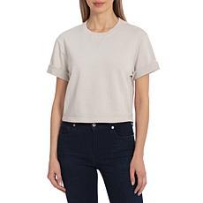 Avec Les Filles French Terry T-Shirt