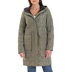 Avec Les Filles Star Quilted Anorak