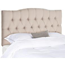 Axel Linen Tufted Headboard - Queen