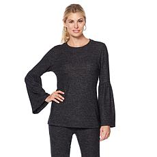B Collection by Bobeau Bell-Sleeve Knit Top - Plus