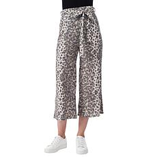 B Collection by Bobeau Tie-Waist Crop Pant