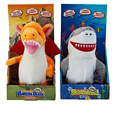 Babble Budz Interacting Plush Toys 2-pack with 3 Voice Filters