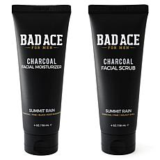 BAD ACE Moisturizer and Face Scrub 2-Pack