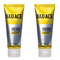 BAD ACE Moisturizer and Face Wash 2-Pack