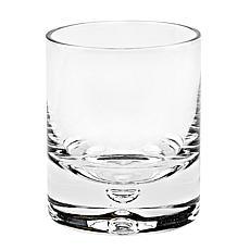 Badash Galaxy Lead-Free Crystal Old Fashioned Rocks Glass 4-pack