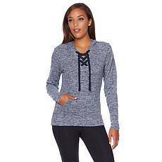 Balance by Marika Danique Lace-Up Hoodie