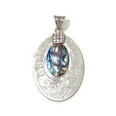 Bali Designs Abalone & Mother-of-Pearl Pendant