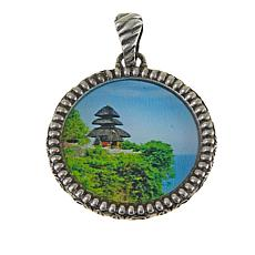 Bali Designs by Robert Manse Uluwatu Temple Sterling Silver Pendant