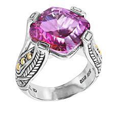 Bali RoManse Sterling Silver Pink Fantabulous Quartz Ring