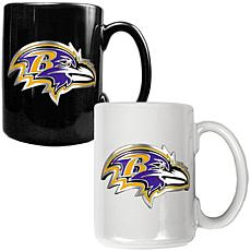 Baltimore Ravens 2pc Coffee Mug Set