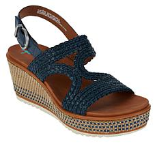 Baretraps® Elsa Woven Platform Wedge Sandal