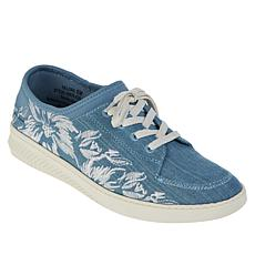 Baretraps® Yalora Embroidered Lace-Up Sneaker