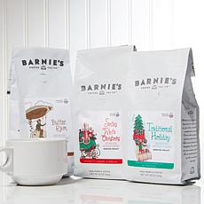 Barnie's Coffee Kitchen 3-count Ground Coffee Holiday Trio