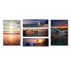 Beach Scenes Wall Collection' Multi-Panel Art