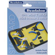 Beadalon 5-piece Mini Tool Kit for Beading