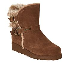 BEARPAW® Arielle Suede Buckled Boot with NeverWet™
