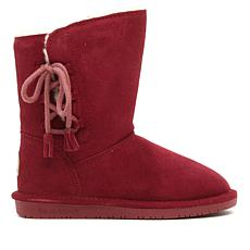 BEARPAW® Aspen Suede Side-Lace Boot with NeverWet™