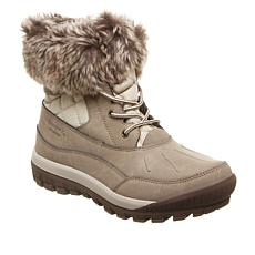 BEARPAW® Becka Leather and Quilted Nylon Hiker Boot