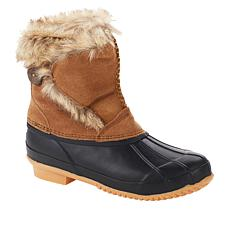 BEARPAW® Deborah Suede Waterproof Duck Boot with NeverWet™