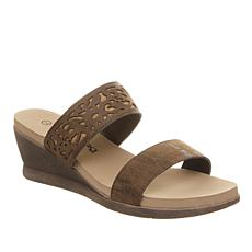 BEARPAW® Noelle Wedge Slide Sandal