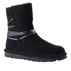 BEARPAW® Shirley Suede Zip-Up Boot with NeverWet™
