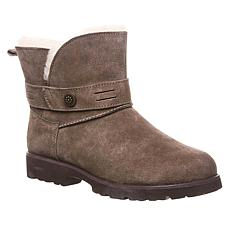 BEARPAW® Wellston Suede Sheepskin Concho Boot with NeverWet™