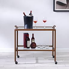 Beatonville Metal Bar Cart