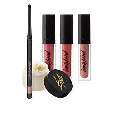 Beauty For Real Soft Neutrals Lip Wardrobe 5-piece Set