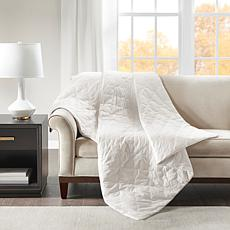 """Beautyrest Deluxe Cotton Weighted Blanket 60"""" x 70""""- 18 lb. - White"""