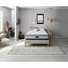 "Beautyrest Plush Euro Top Mattress Set with 5"" Foundation - Cal King"