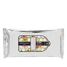 Beekman 1802 Apricot and Honey Tea 30-count Facial Cleansing Wipes