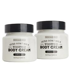 Beekman 1802 Arcadia Goat Milk Whipped Body Cream Duo