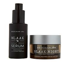 Beekman 1802 Blaak Night Goat Milk Cream & Serum for Dry Skin
