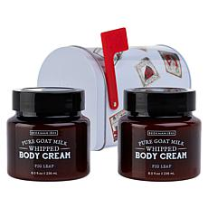 Beekman 1802 Fig Leaf Body Cream 2-piece Mailbox Set