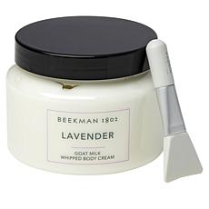 Beekman 1802 Goat Milk 16 oz. Whipped Body Cream w/ Spatula - Lavender