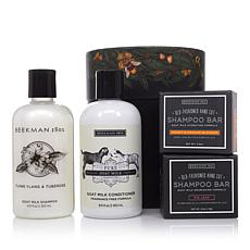 Beekman 1802 Goat Milk Hair Care 4-piece Set in Hat Box