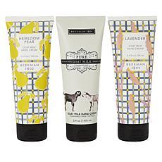 Beekman 1802 Goat Milk Hand Cream Assorted 3-Pack
