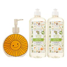Beekman 1802 Happy Place 20 oz. Dish Soap 2pk with Ceramic Dispenser