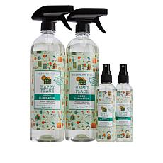 Beekman 1802 Happy Place Sweet Grass Odor Eliminator 4-piece Set