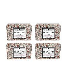 Beekman 1802 Honeyed Grapefruit Bar Soap 4-piece Set