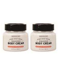 Beekman 1802 Honeyed Grapefruit Goat Milk Whipped Body Cream Duo AS®
