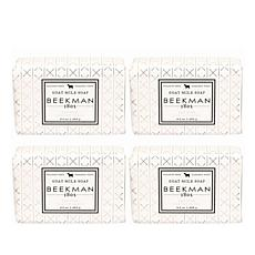 Beekman 1802 Oak Moss Goat Milk Bar Soap 4-piece Set