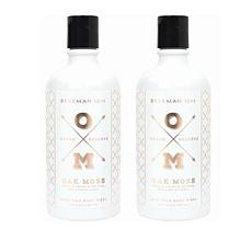 Beekman 1802 Oak Moss Goat Milk Body Wash Duo