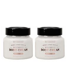 Beekman 1802 Oak Moss Goat Milk Whipped Body Cream Duo - Auto-Ship®