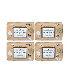 Beekman 1802 Sweet Grass Goat Milk Bar Soap 4-piece Set