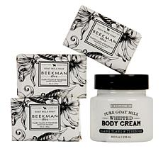 Beekman 1802 Ylang Ylang & Tuberose Goat Milk 4-piece Collection