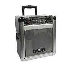 "beFree Sound Sleek 8"" Professional Portable PA Speaker"