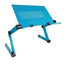 Bell & Howell Adjustable Laptop Desk with Mouse Pad