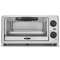 Bella 4-Slice Stainless Steel Toaster Oven